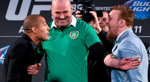 UFC President Dana White is anxious to bring fight action back to Ireland