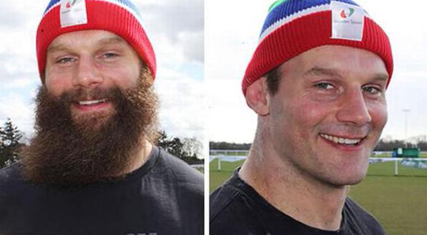 Geoff Cross, before and after