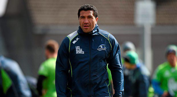 Connacht's Mils Muliaina