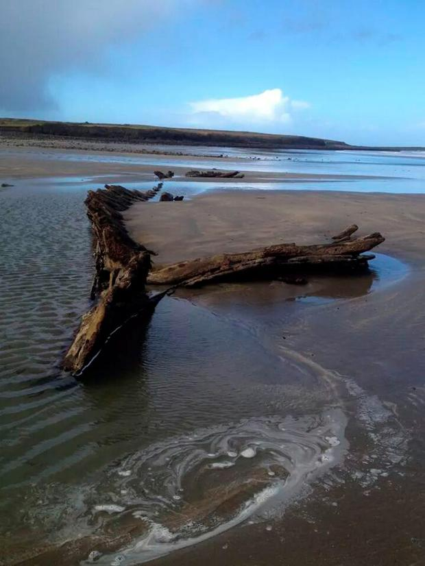 The Butter Boat on Streedagh Beach Pic: Fado Archaeology