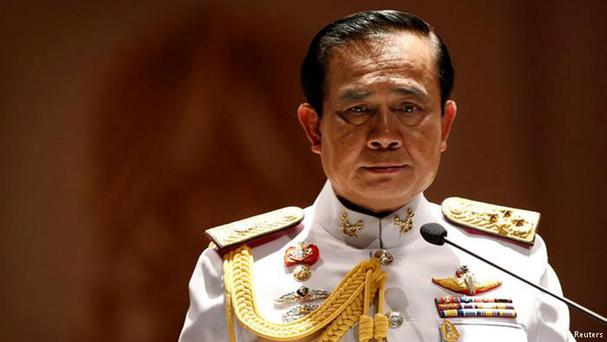 Prime Minister Prayuth Chan-ocha, who seized power as part of a coup by the Thai army