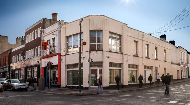 110 Main Street in Bray is one of two retail properties on the market from Colliers