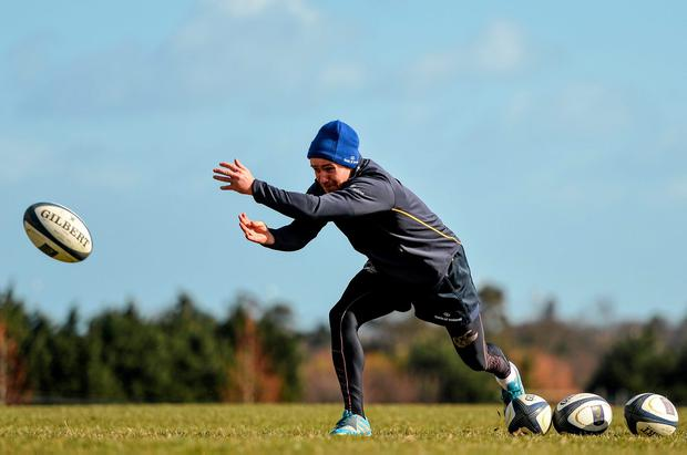 Eoin Reddan in action during squad training