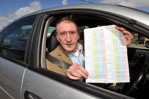 Ray Heffernan says it's only a matter of time before he gets his licence. Photo: Daragh McSweeney