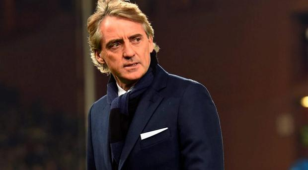 Head coach Roberto Mancini of Internazionale Milano