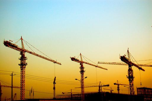 Cranes are one of the most visible and welcome signs of economic recovery