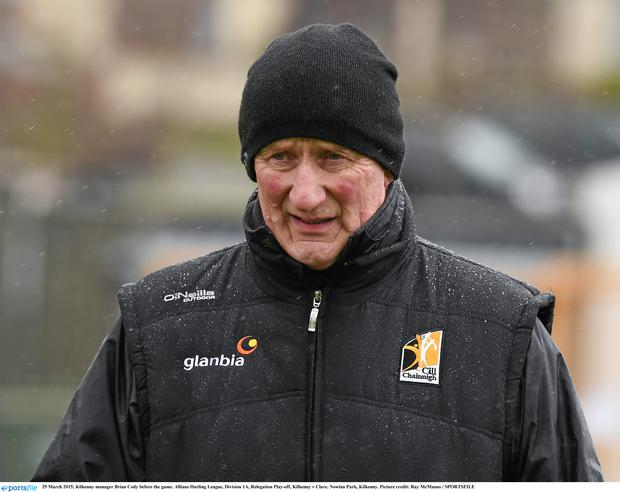 Kilkenny manager Brian Cody before the game. Allianz Hurling League, Division 1A, Relegation Play-off, Kilkenny v Clare. Nowlan Park, Kilkenny. Picture credit: Ray McManus / SPORTSFILE