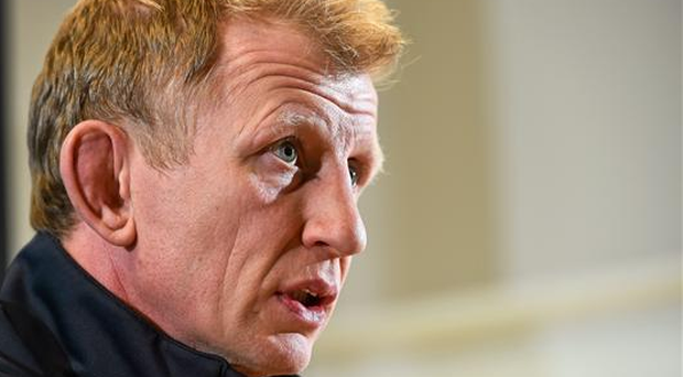Leinster forwards coach Leo Cullen is hoping to take a leaf from Ireland's play book and nullify the powerful threat that Bath carry in their forward pack (SPORTSFILE)