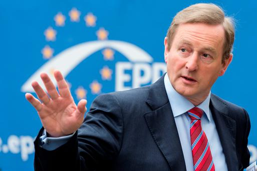 Irish Prime Minister Enda Kenny has urged the banks – saved by the taxpayer at considerable ongoing costs – to have some regard for those same taxpayers (AP Photo/Geert Vanden Wijngaert)