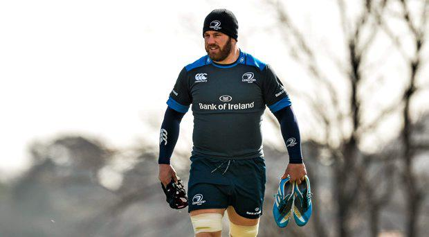 Leinster's Sean O'Brien arrives for squad training. St Gerard's School, Bray, Co. Wicklow.