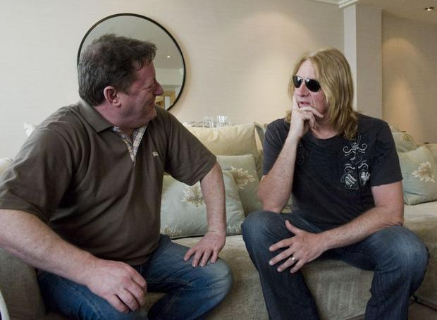 Thursday 07 April 2011. Joe Elliot interview with George Byrne.