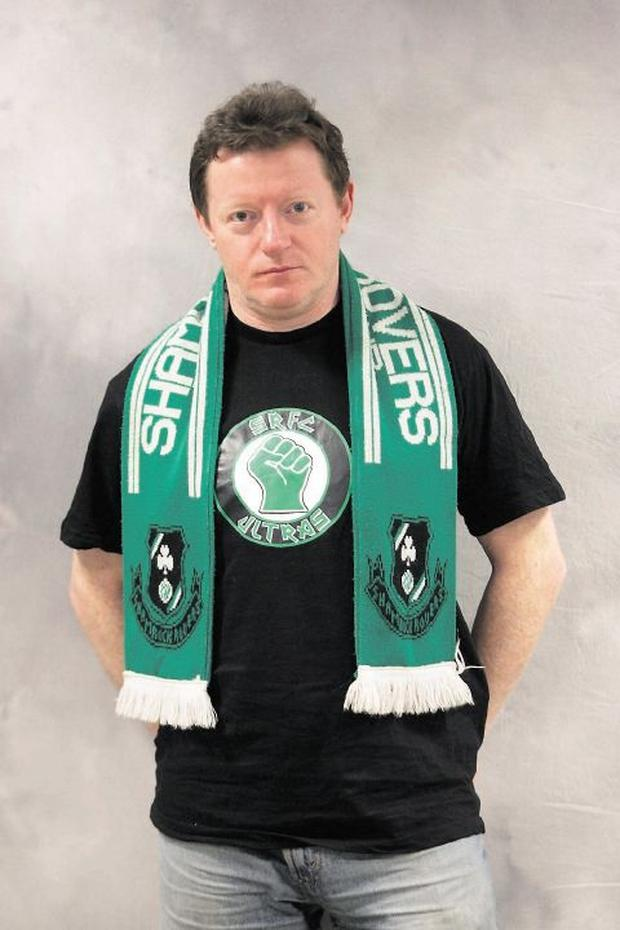 Lifelong Shamrock Rovers supporter George Byrne