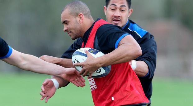 Bath's Jonathan Joseph insists he is prepared for Leinster's tricks. Photo: David Rogers/Getty Images