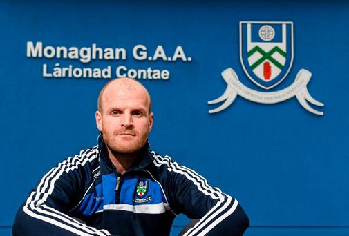 Dick Clerkin has real ambitions for success with Monaghan
