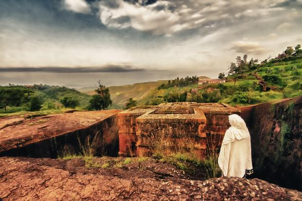 Churches at Lalibela Ethiopia
