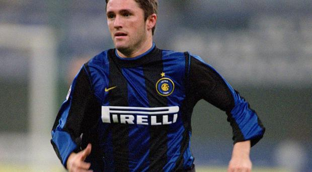 Robbie Keane's spell at Inter Milan was far from successful. Photo: Stuart Franklin /Allsport