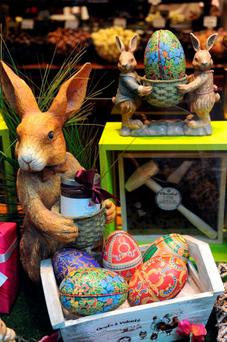in more recent times in our consumer-driven society, Easter has been colonised by the multinational conglomerates with chocolate eggs, Easter bunnies and the other paraphernalia that goes with such occasions (Getty Images)