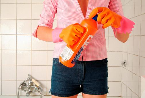 Parents who regularly use bleach may be causing their children to be more vulnerable to infection