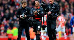 Liverpool's Raheem Sterling is a wanted man