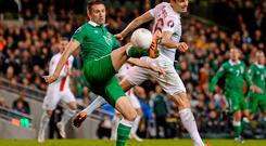 Robbie Keane is a doubt for Scotland game