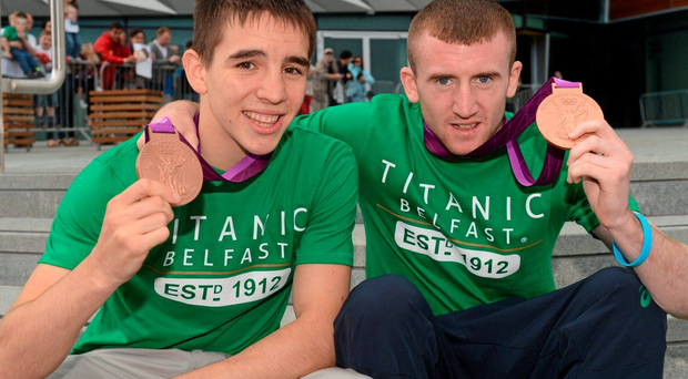 Olympic medallists Michael Conlon and Paddy Barnes are preparing for Rio 2016