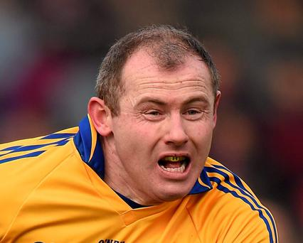 Pat Burke scored for Clare in their clash against Fermanagh