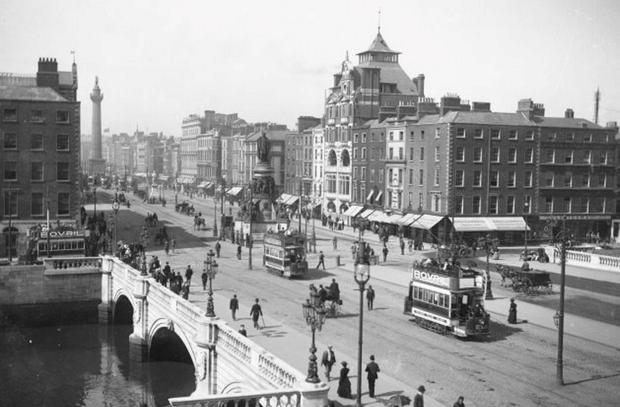O'Connell Street pictured in 1915
