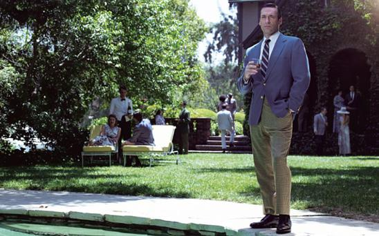 Jon Hamm as Don Draper - Mad Men