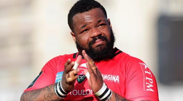 RC Toulon's French centre Mathieu Bastareaud