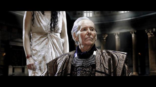 The late Peter O'Toole in his last film role.