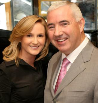 Sean Dunne and wife Gayle Killilea