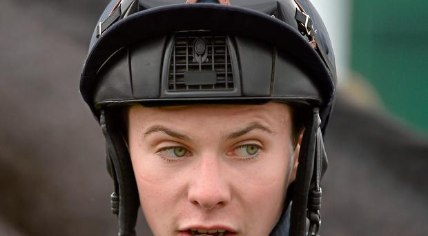 Joseph O'Brien never looked particularly happy on the visiting hot favourite, Aetna, here as last year's winner An Saighdiur cut out the pace in the six-furlong contest