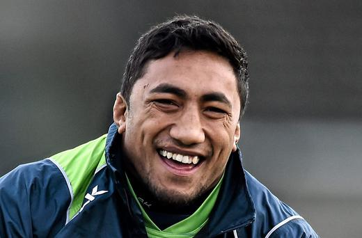 Connacht's Bundee Aki has been out since January with an ankle injury but should line out alongside Robbie Henshaw in the centre on Saturday