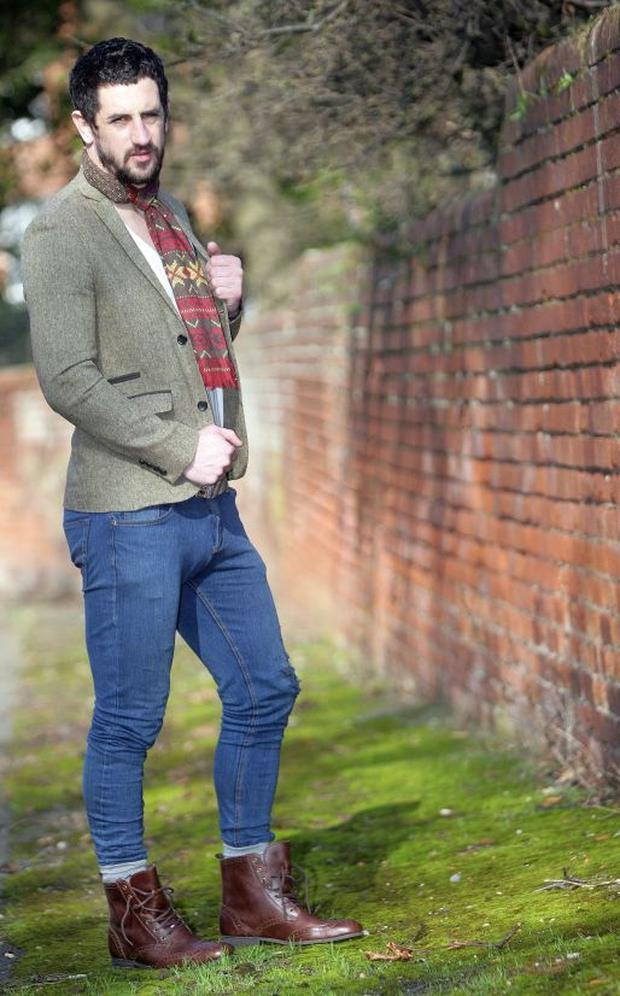 Paul Galvin in tweed