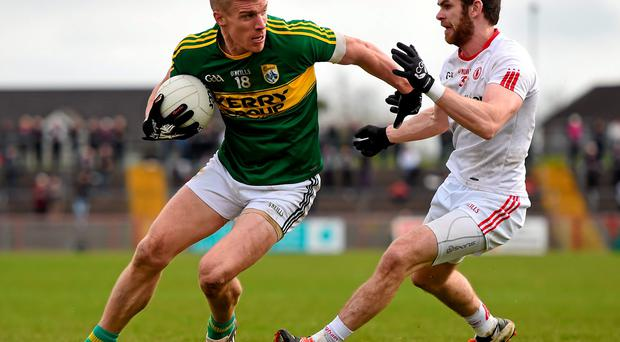 Kerry and Tyrone played out an excellent league game in Omagh on Sunday