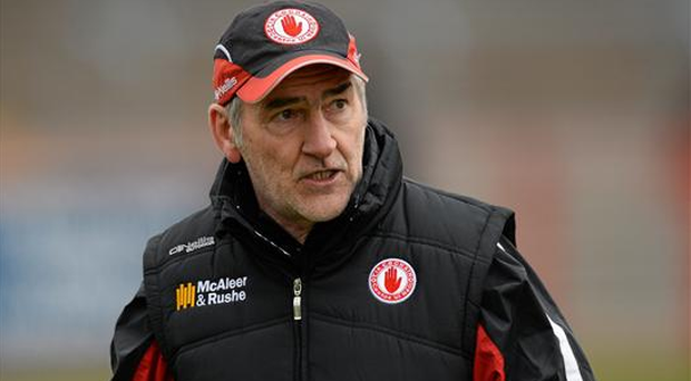 Manager Mickey Harte was not on the sideline for Sunday's draw but will have been pleased with the spirited performance of his team despite the drop