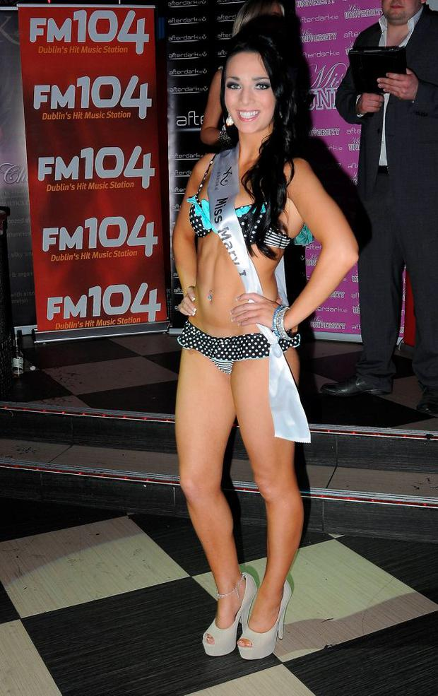 Shahira Barry competing in Miss University 2011