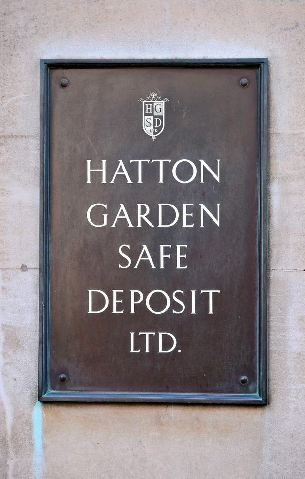 Hatton Garden Safe Deposit company, in London Photo credit: Dominic Lipinski/PA Wire