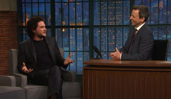 English actor Kit Harrington plays Jon Snow in the 'Game of Thrones'