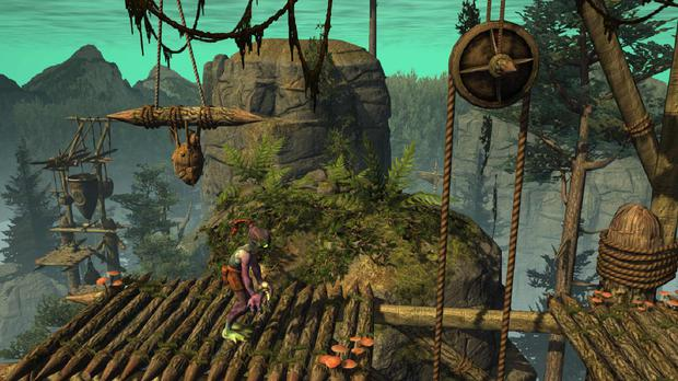 Watch out for the awkward jumping in Oddworld: Abe's Oddysee – New'n'Tasty