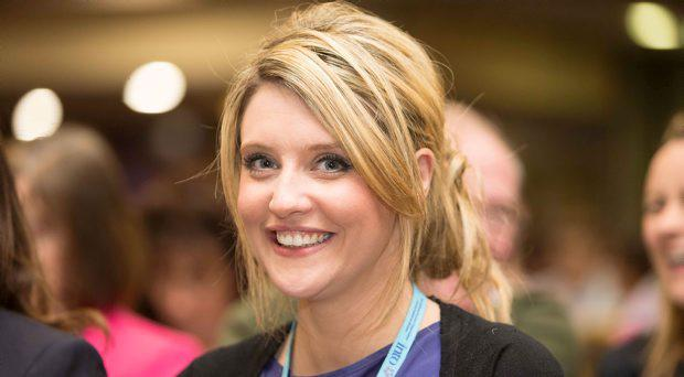 Tracey Whyte, Monaghan attending the INTO annual congress