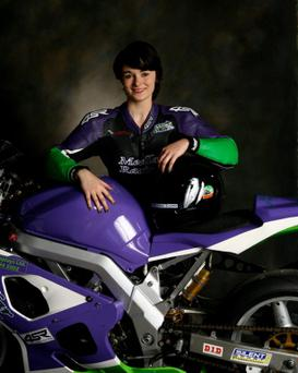 Nicole Lynch from Clondalkin will be placing her foot on the first rung to the top of the high speed bike racing ladder when she makes her debut in the 2015 Adelaide Masters Series on Saturday 11th April, Irelands biggest and most high-profile motorcycle racing championship.
