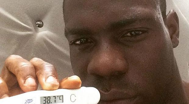 Mario Balotelli took to Instagram to prove he was too ill to play for Liverpool in their FA Cup win at Blackburn