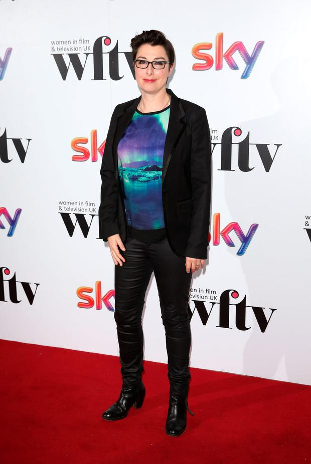 Sue Perkins attends the Sky Women In Film and TV Awards at London Hilton on December 5, 2014 in London, England.