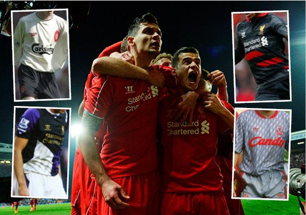 wholesale dealer 001d7 effb2 The good, the bad and the ugly of Liverpool's kits through ...