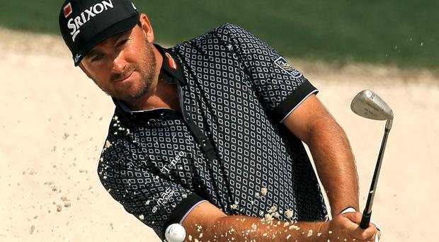 Graeme McDowell might well have posted his best-ever round score at The Masters but for some wayward driving.