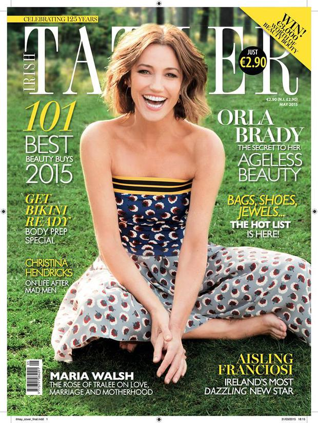April 2015 issue of Irish Tatler is out now