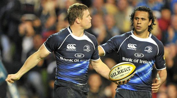 Brian O'Driscoll and Isa Nacewa during their playing days