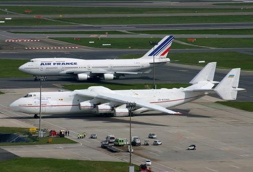Mriya, the Antonov 225