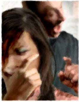 A reader's husband has been verbally and physically abusive